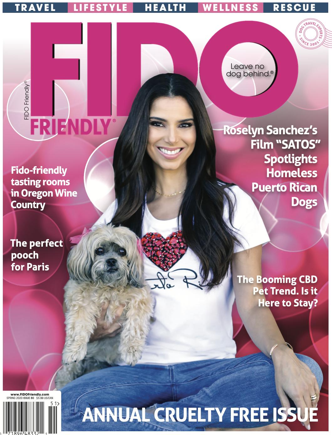 Fido Friendly Cover